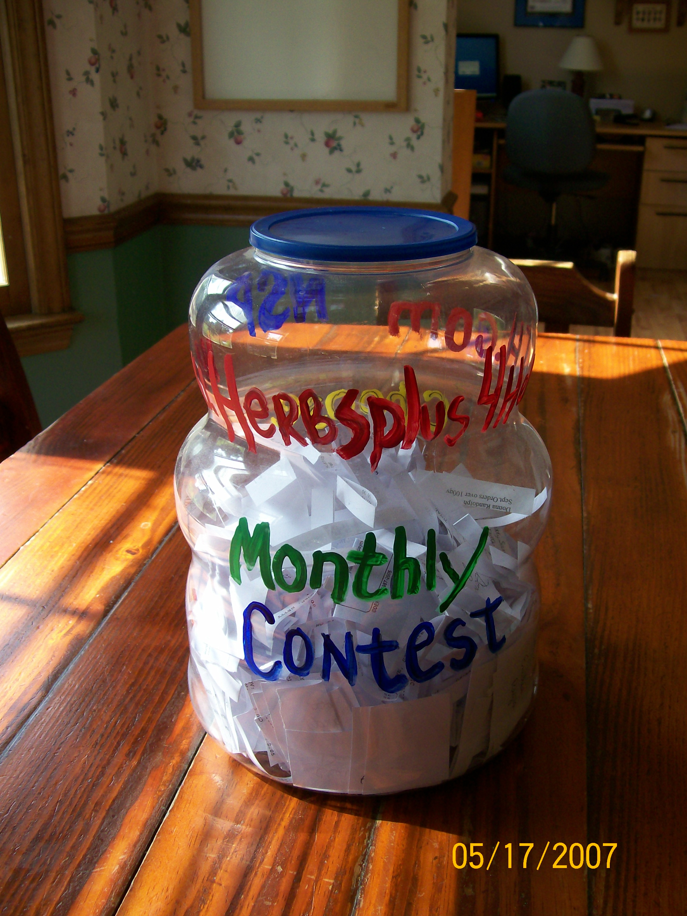 Enter our Monthly Contests - See How Below